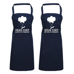 Head and Sous Chef Aprons