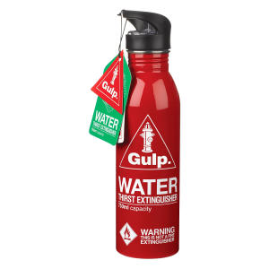 Extinguisher Water Bottle