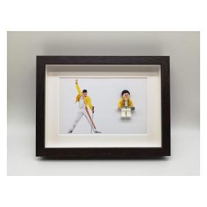 Freddie Mercury LEGO® Picture Frame