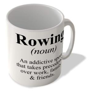 Funny Rowing Definition Mug