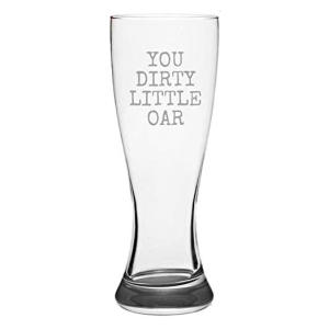 Funny Rowing Pilsner Glass