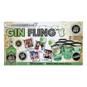Gin Pong Kit Party Game
