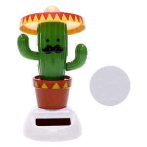Cactus Dashboard Dancing Head