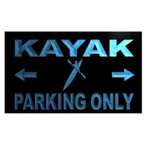 Kayak Led Neon Signboard