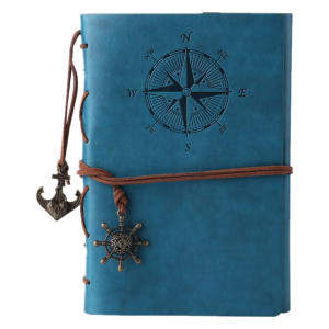 Nautical Leather Bound Journal