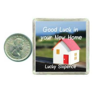 New Home Lucky Sixpence