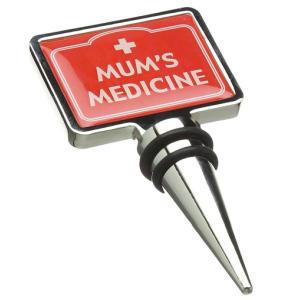 Mum's Medicine Wine Bottle Stopper