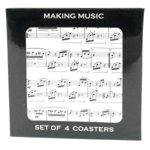 Musical Notes Coasters