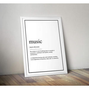 Music Definition Print