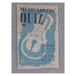 Music Lovers' Quiz