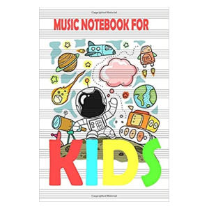 Music Notebook For Kids