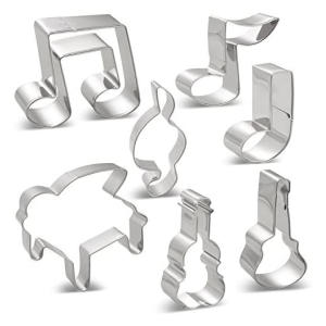 Music Notes Cookie Cutters