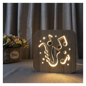 Guitar Cello 3D Night Lamp