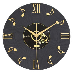 3D Musical Notes Wall Clock