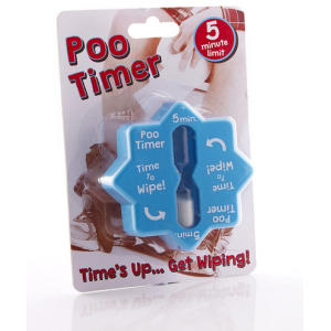 Poo Funny Toilet Timer