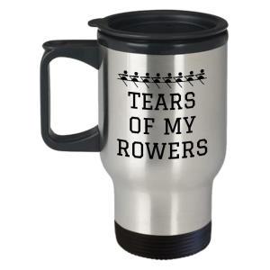 Funny Rowing Travel Mug