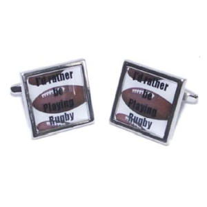 Novelty Rugby Cufflinks