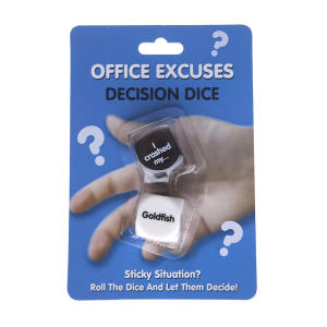Office Excuses Dice