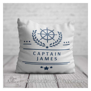 Personalised Captain Cushion