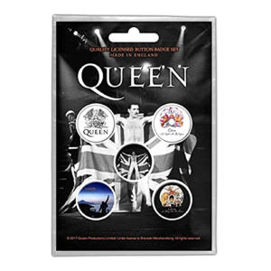 Queen Button Badge Pack