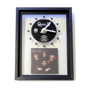 Queen Framed CD Art Clock