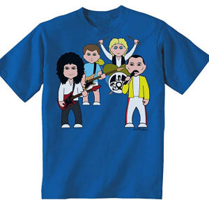 Queen Caricature Childrens T Shirt