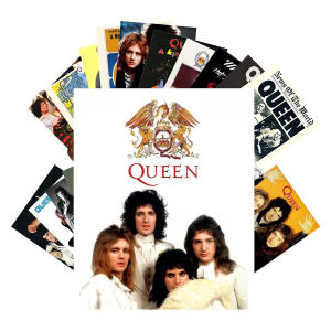 24 Queen Postcards