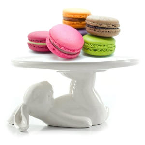 Bunny Rabbit Ceramic Plate