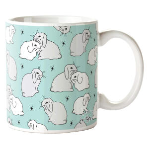 Rabbit Pattern Printed Mug