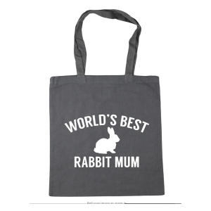 Rabbit Mum Tote Bag