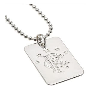Rangers F.C Dog Tag & Chain