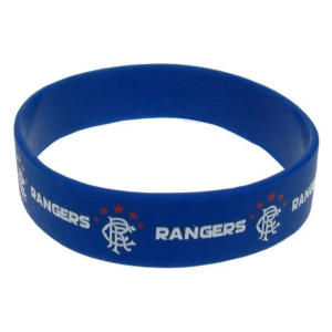 Rubber Crest Single Wristband