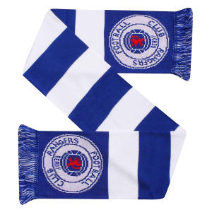 Rangers FC Crest Bar Scarf