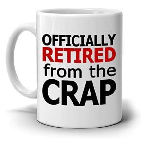 Novelty Retirement Mug