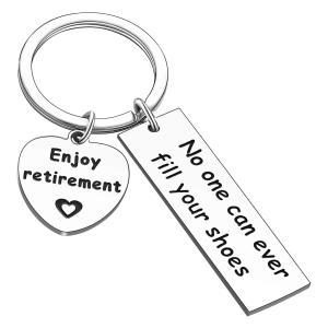 Happy Retirement Keyring