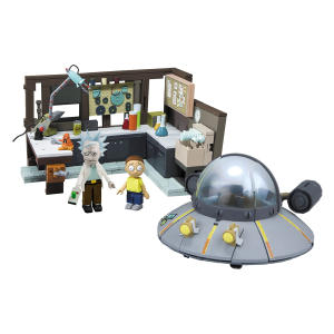 Spaceship and Garage Wave 1 Construction Set