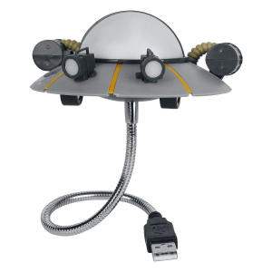 Rick & Morty UFO Ship USB Light