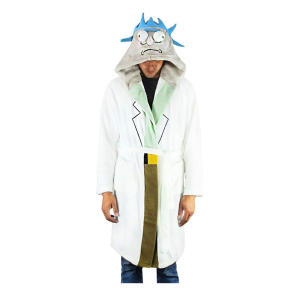 Rick And Morty Scientist Dressing Gown