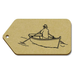 Large 'Rower' Gift Tags