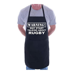 Novelty Rugby Fan Apron
