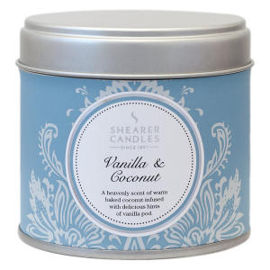 Vanilla and Coconut Scented Candle