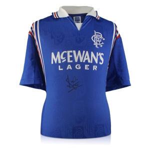 Ally McCoist Signed Rangers Shirt
