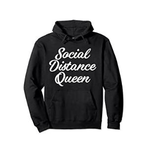 Social Distance Queen Hoodie