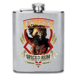 Spiced Rum Hipflask