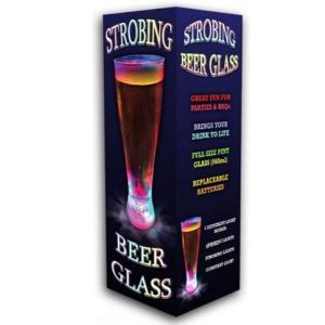 Strobing Beer Glass