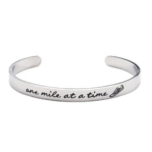 One Mile At A Time Bangle