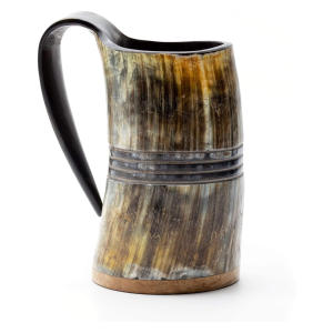 Genuine Viking Drinking Horn Mug