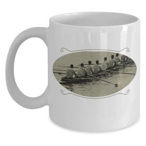 Vintage Graphic Rowing Mug
