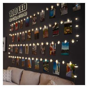 100 LED String Lights