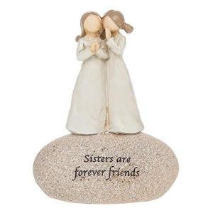 Angels Sisters Sentimental Pebble